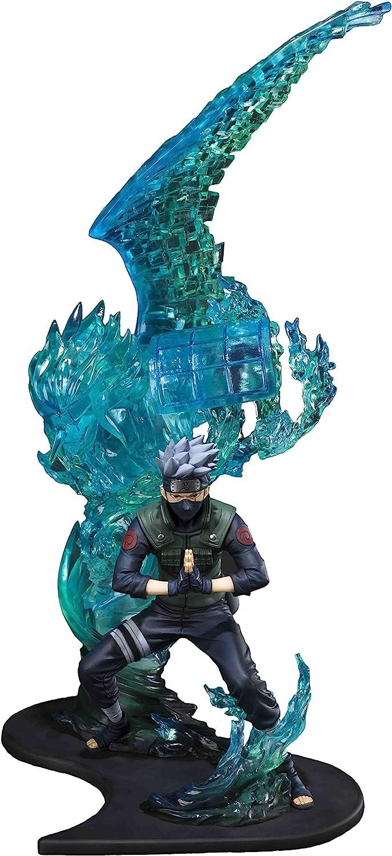 TAMASHII NATIONS Bandai Figuartszero Kakashi Hatake-Susanoo-Kizuna Relation Statue