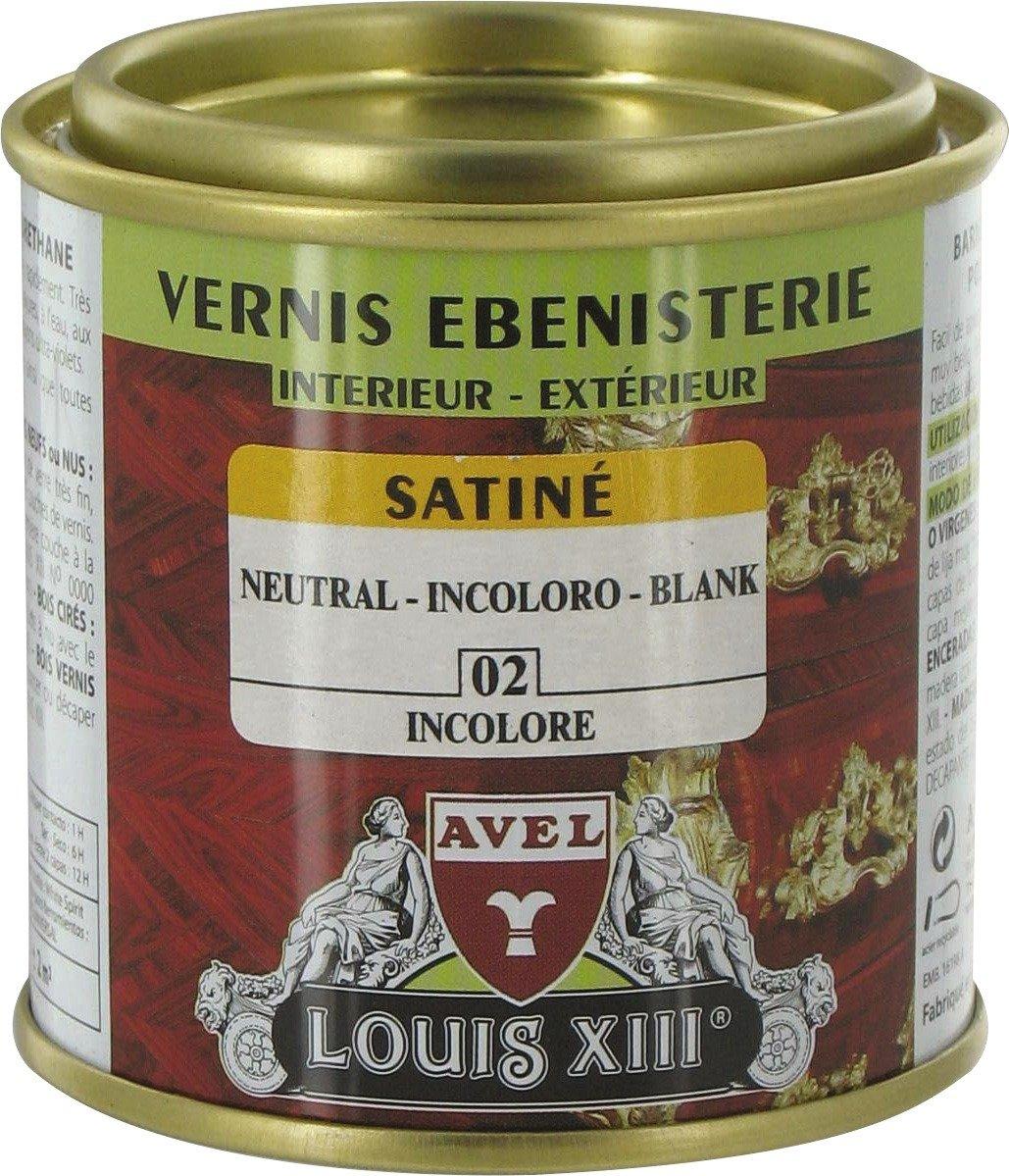 Vernis bois satiné 125 ml / Incolore Générique 341115