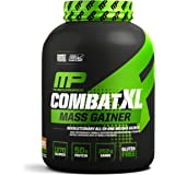 MusclePharm Combat XL Mass Gainer Powder, Chocolate Peanut Butter, 6 Pound