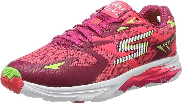 Zapatillas deportivas de mujer Skechers Go Run Ride 5, color Rojo ...