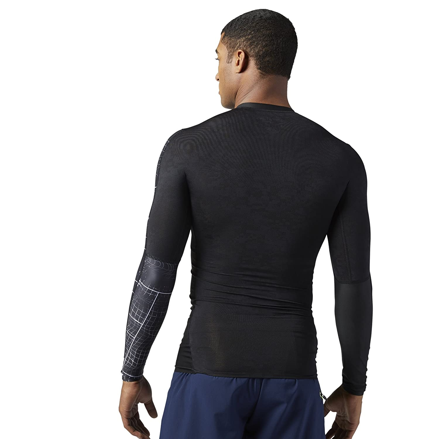 Reebok Mens Crossfit Compression Long Sleeve Tee