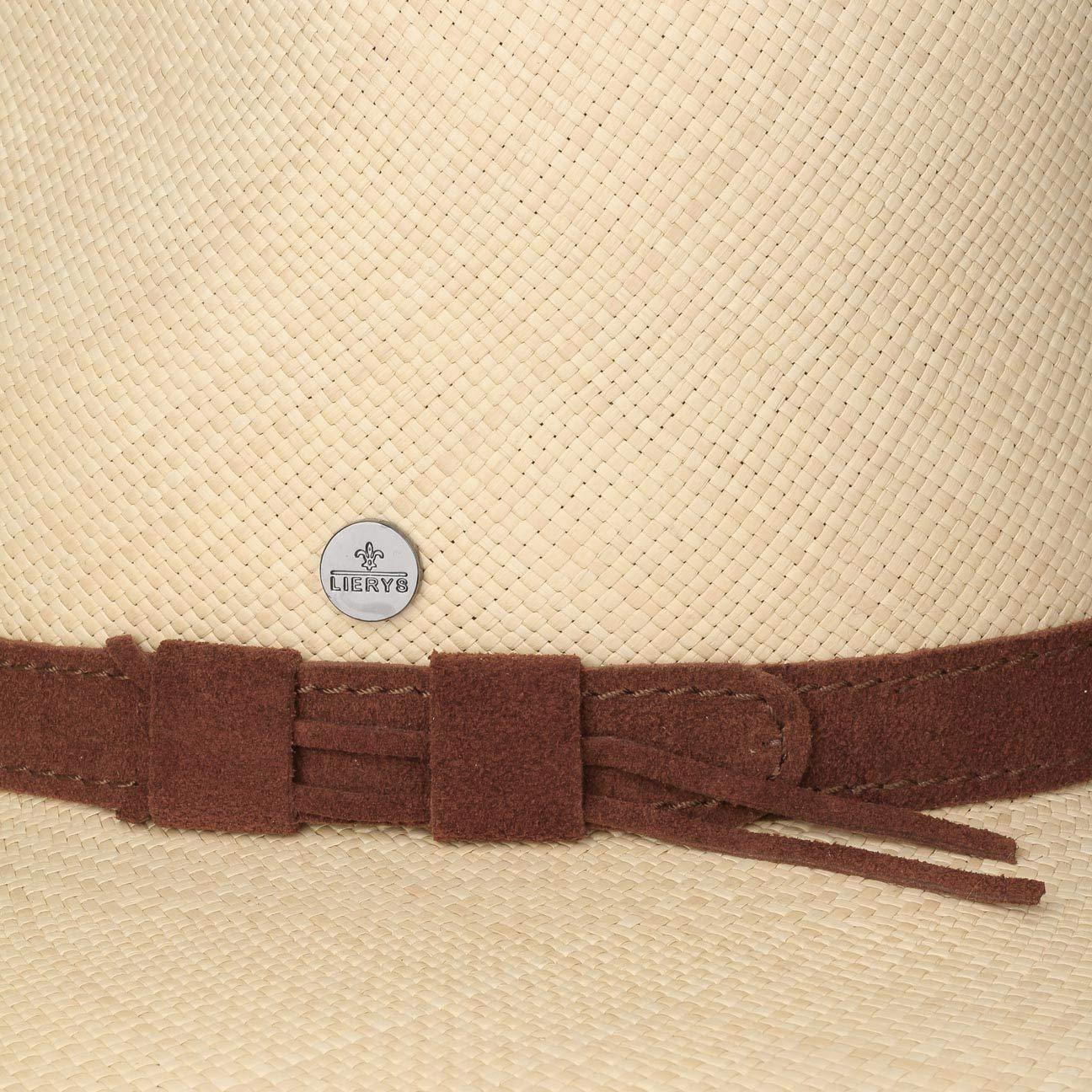 9a2c7c162de Lierys Big Brim Panama Traveller Hat Fedora (XL (61-62 cm) - Nature)   Amazon.co.uk  Clothing