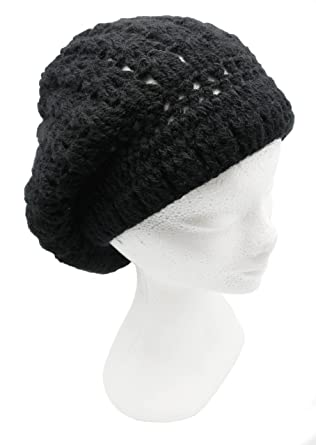 a42c98588b1 Handmade Alpaca Rasta Inspired Slouchy Hat - Crocheted by Hand (Made to  Order)