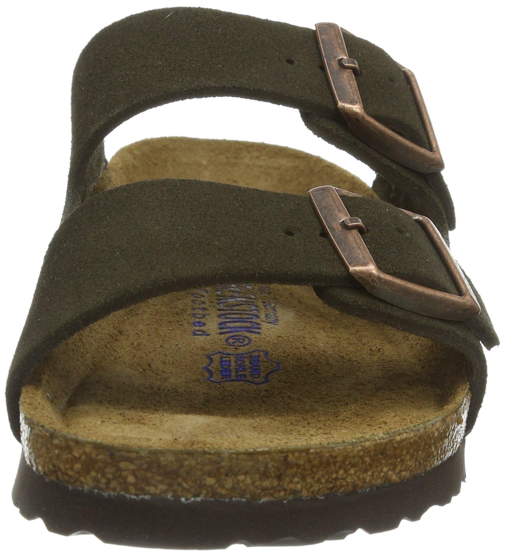Birkenstock Women´s Arizona Mocha Suede Sandals 37 N EU N 951313 by Birkenstock (Image #4)