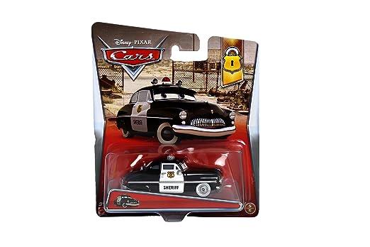 Disney Cars Cast 1:55 - Selección Modelos de Vehículos Sort.2, Cars 2013+14:Sheriff: Amazon.es: Juguetes y juegos