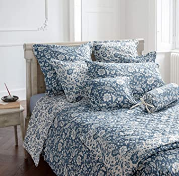 Laura Ashley Bettwäsche Lyla V3 Dark Seaspray Amazonde Küche