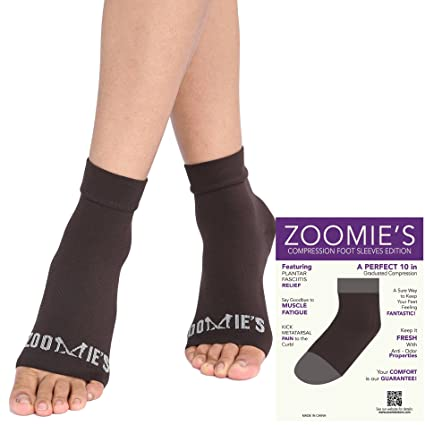 38449f6e38 Zoomie's Plantar Fasciitis Socks - Heel, Arch Support Socks, Achilles  Tendon and Ankle Support