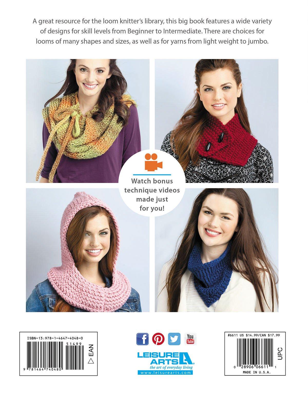 Big Book of Loom Knit Cowls (6611): Kathy Norris: 0028906066111 ...
