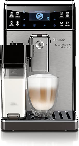 Saeco GranBaristo Avanti HD8967/47 - Cafetera (Independiente, Máquina espresso, 1,7 L, Molinillo integrado, 1900 W, Antracita, Acero inoxidable): Amazon.es: Hogar