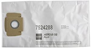 Taski Aero 8/15 Plus Disposable Fleece Bags Grey/Orange