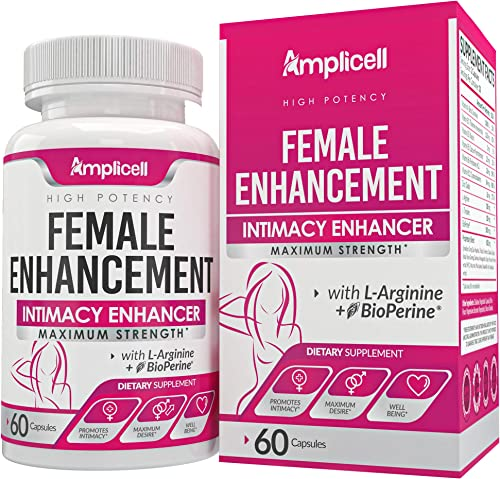 Female Enhancement 60caps – Hormone Balance for Women – Intimacy Mood Support – Natural Female Enhancement Pills with Dong Quai, Ginseng Maca Root