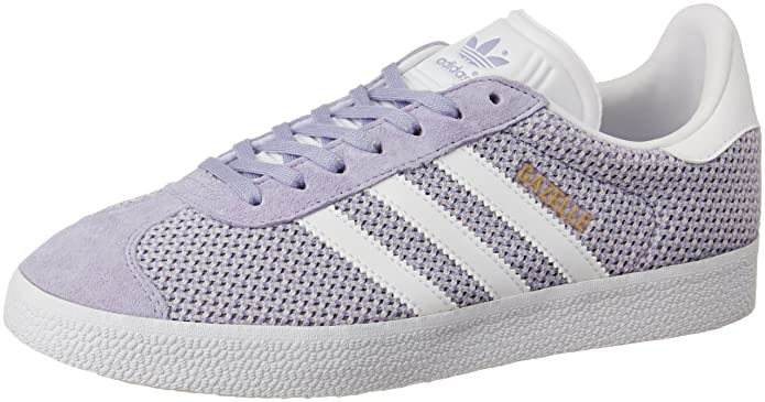 adidas Damen Gazelle Fitnessschuhe Sneaker Lila Easy Purple