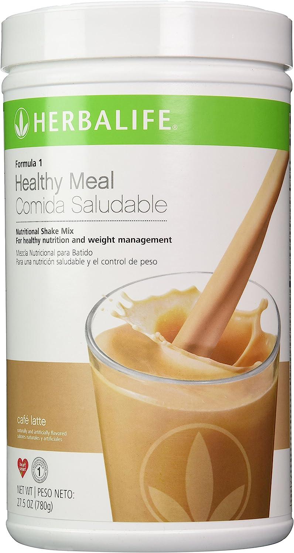 Herbalife Formula 1 Nutritional Shake Mix Cafe Latte 27.5oz ...