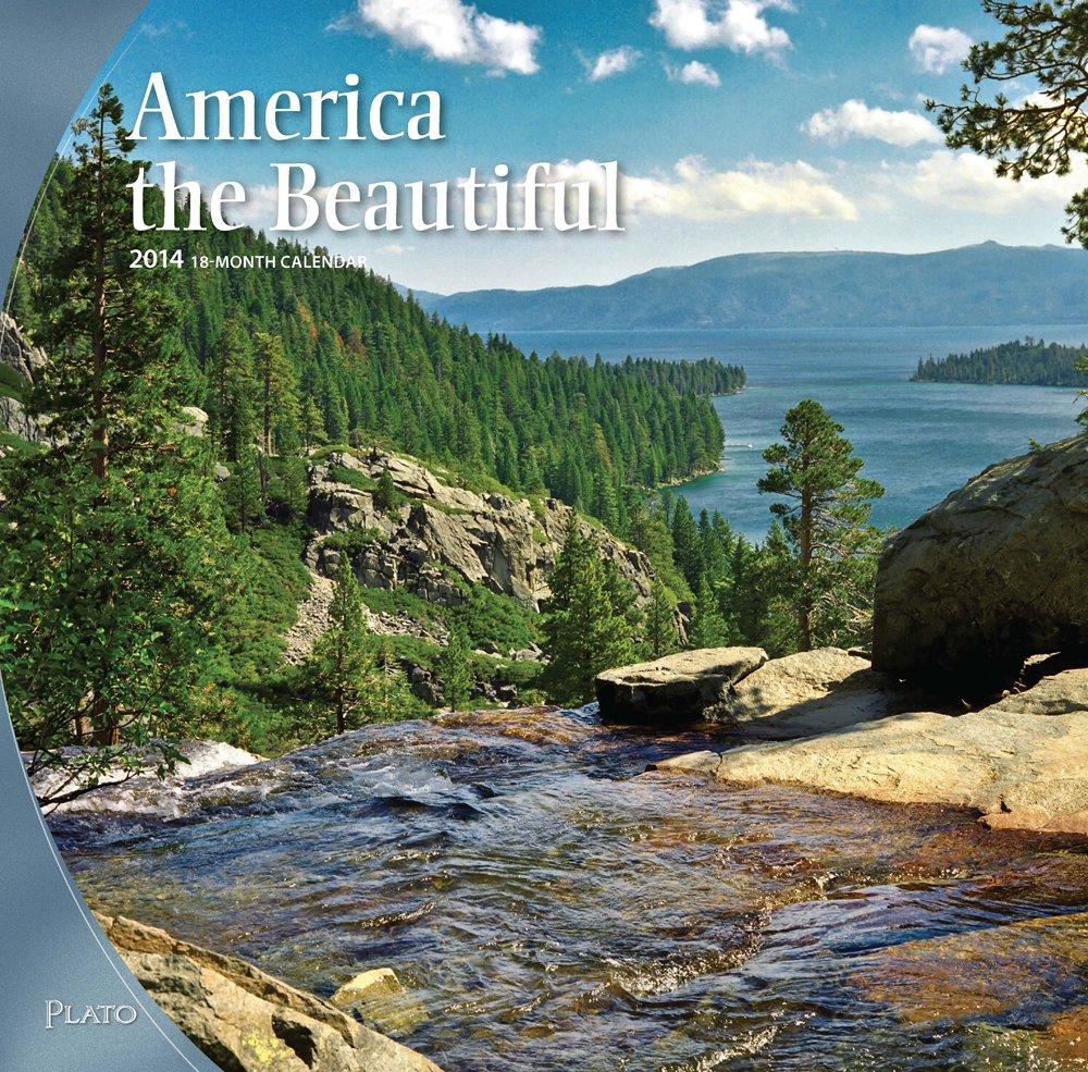 America the Beautiful 2014 Square 12x12 pdf