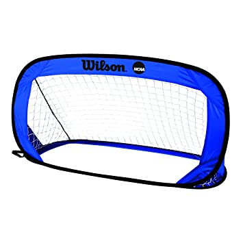 Wilson NCAA Go Quick Soccer Goal Pelota De Fútbol, Unisex Adulto, Blue, NS