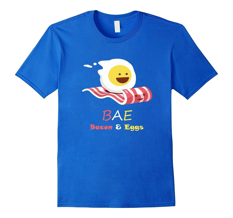 BAE Bacon And Eggs Funny Egg Riding Bacon Magi Carpet Shirt-CD