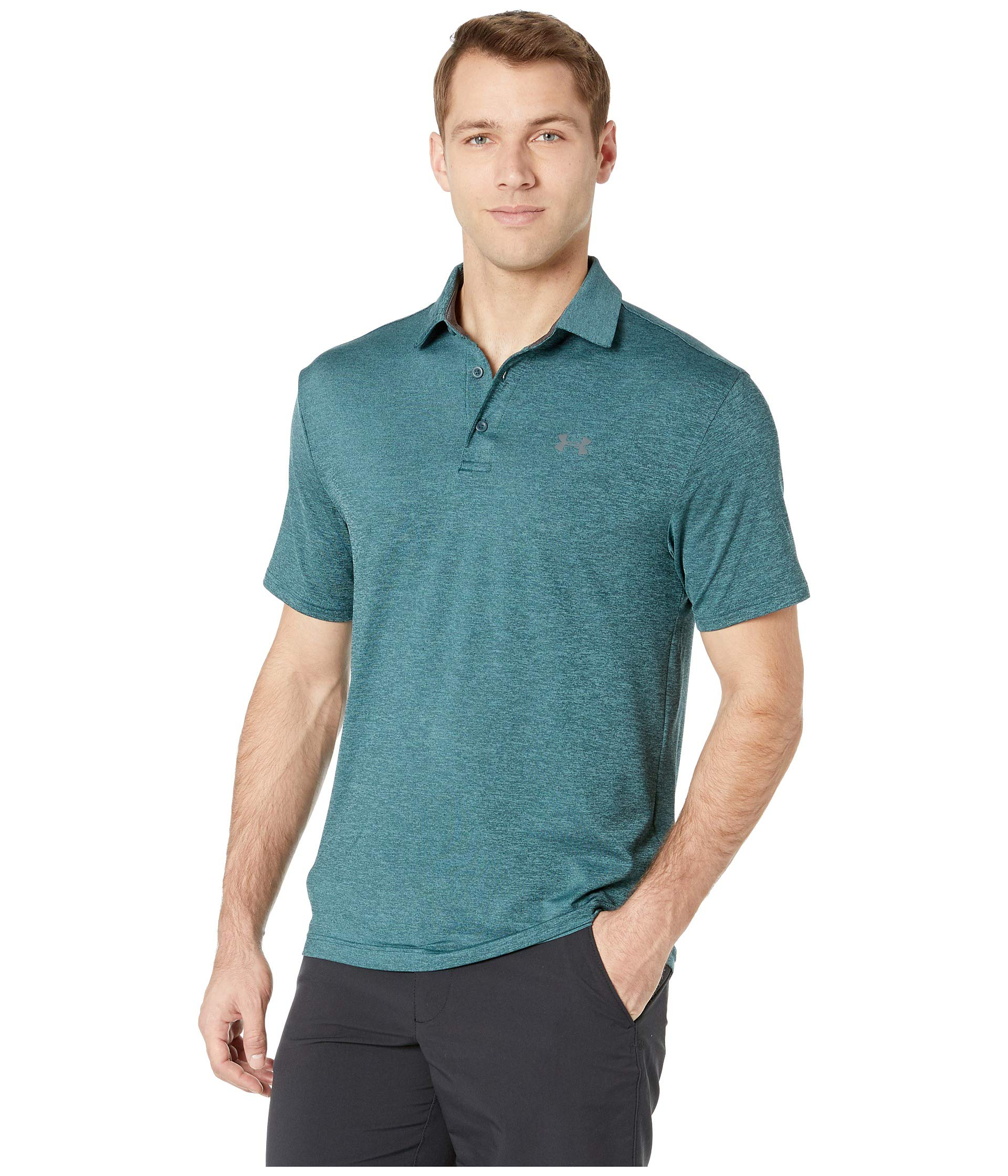 Under Armour Golf Men's Playoff Polo 2.0 Batik/Dust/Pitch Gray XXX-Large