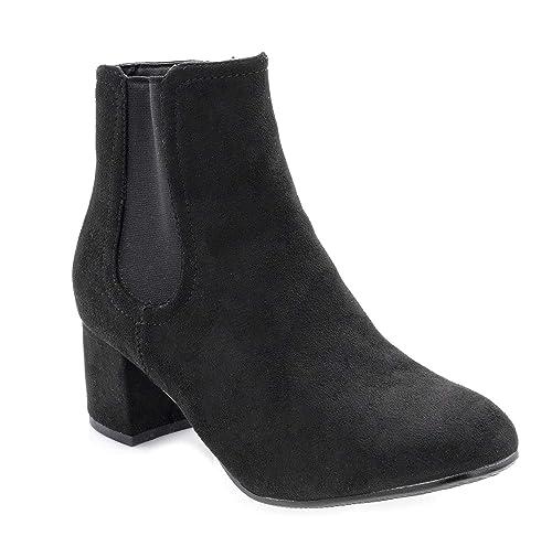 mieux nouveau produit ramasser Chaussures Femmes Automne Hiver-Mode Bottines Short -Boots ...