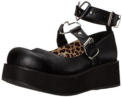 Chaussures Demonia Sprite noires Fashion femme ejXeNZ