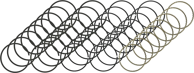 Hastings 2M5292 8-Cylinder Piston Ring Set