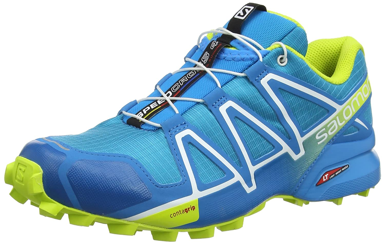 Salomon 2018メンズSpeedcross 4 Running Shoe – ハワイアンサーフ/酸ライム/ホワイト – l40074600 B078VGHYVF 7.5|Hawaiian Surf/Acid Lime/White Hawaiian Surf/Acid Lime/White 7.5