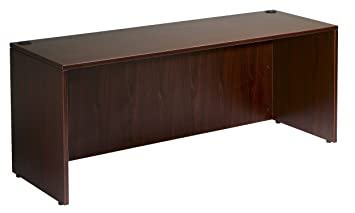 Bon Amazon.com: Boss Office Products N102 M Desk Shell 66 In Wide X 30 In Deep  In Mahogany: Kitchen U0026 Dining