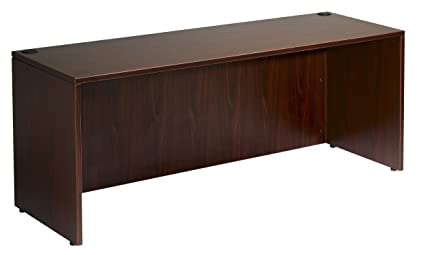 Boss Office Products N102 M Desk Shell 66 In Wide X 30 In Deep In