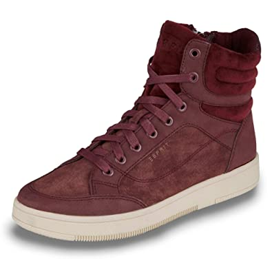 newest collection 6d52f 61c58 ESPRIT Damen Sneaker Desire 096EK1W043-600 rot 180453 ...