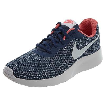 Nike Tanjun SE Women Sneaker Navy Vast Grey/Coral Racer Pink | Fashion Sneakers