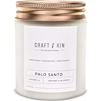 Palo Santo Scented Candles | Wood Wicked Candles | Palo Santo Candle, All Natural Soy Candles Scented, 8 oz | 45 Hour…