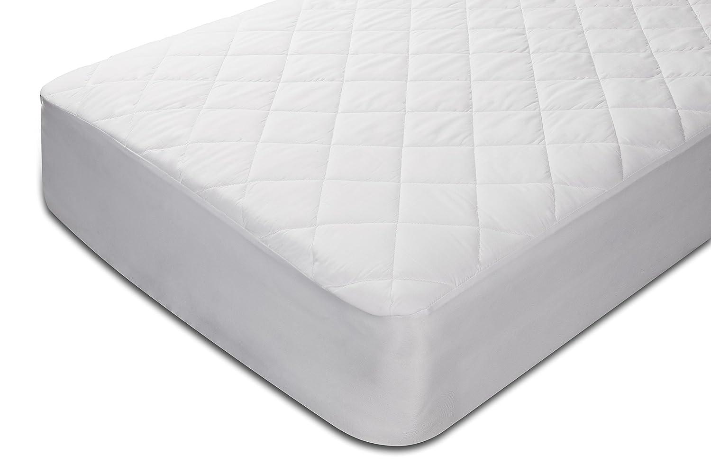 Pikolin Home - Protector de colchón acolchado cubre colchón de fibra, impermeable, antiácaros, 80 x 190/200 cm, cama 80 (Todas las medidas): Amazon.es: ...