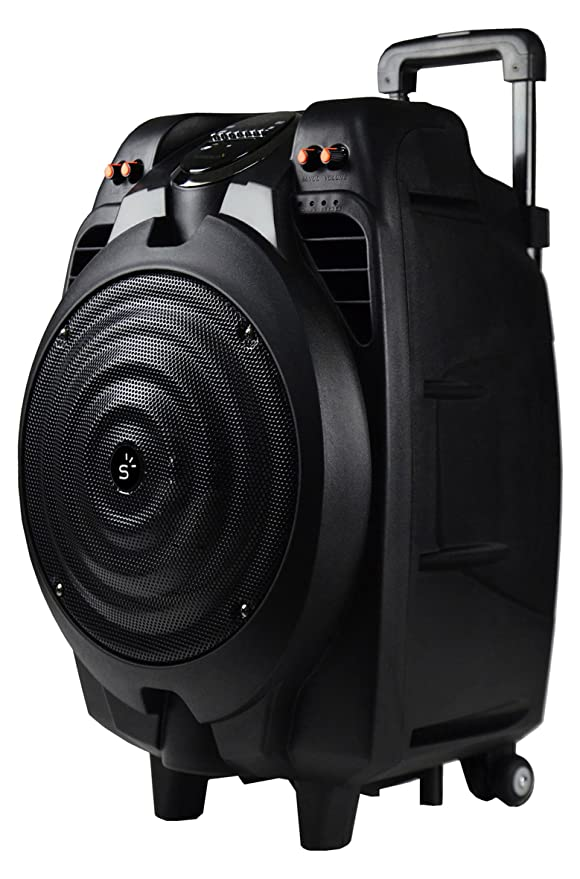 Sunstech Massive-S10 - Altavoz móvil con Bluetooth (50 W, USB, incluye mando a distancia), negro: Sunstech: Amazon.es: Electrónica