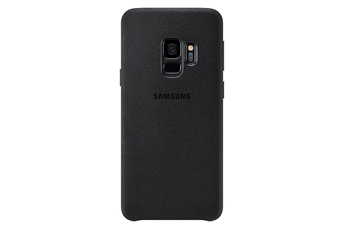 sports shoes 66383 c4c20 Samsung Galaxy S9 Alcantara Case, Black