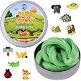 Inner-Active Play Putty Therapy Putty for Kids with Charms Green as Grass Theraputty Medium Resistance, Increase fine Motor S