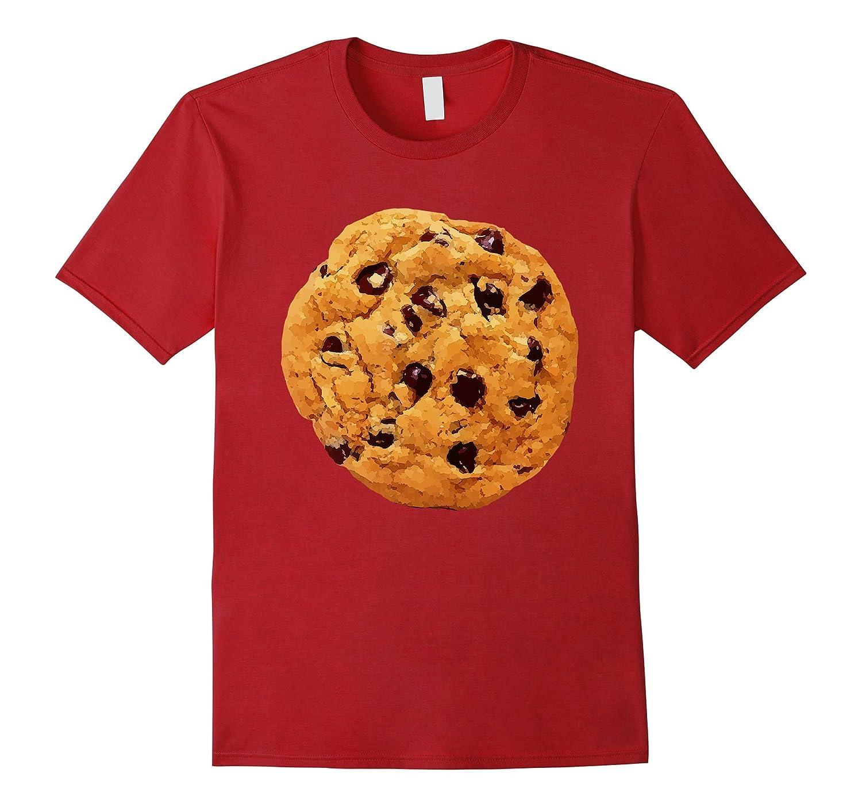 Funny Last Minute Halloween Costume Cookie T-Shirt Big Tee-FL