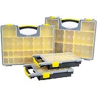 Stalwart 75-MJ4645102 Parts and Crafts Portable Storage Organizer Box (Set of 4)