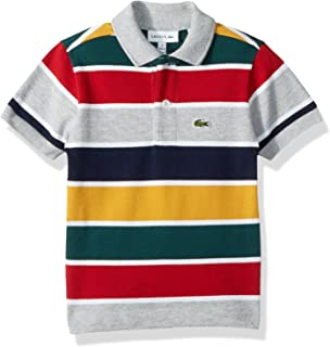 a803d18add78e4 Amazon.com  Lacoste Boy Short Sleeve Classic Pique Polo  Clothing