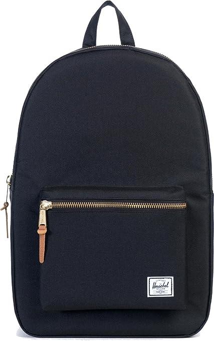 87be1a0b8ef Herschel Supply Co Settlement Backpack Rucksack Bag Black  Amazon.co ...