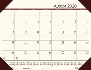 product image for House of Doolittle 2020-2021 Academic Desk Pad Calendar, EcoTones, Cream, 18.5 x 13 Inches, August - July (HOD012541-21)
