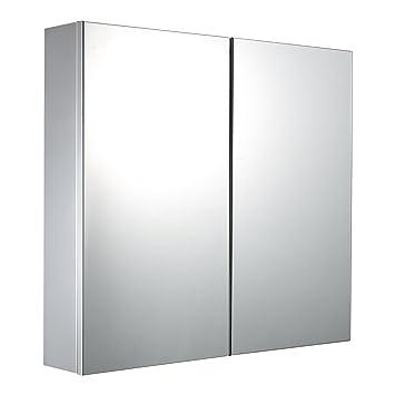Amazon.de: Mari Home - Badezimmerschrank mit Spiegel-Doppeltür ...