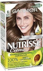Garnier Nutrisse Permanent Hair Colour 6 Acorn