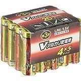 アルカリ単3乾電池 20本 LR6/S20P/V