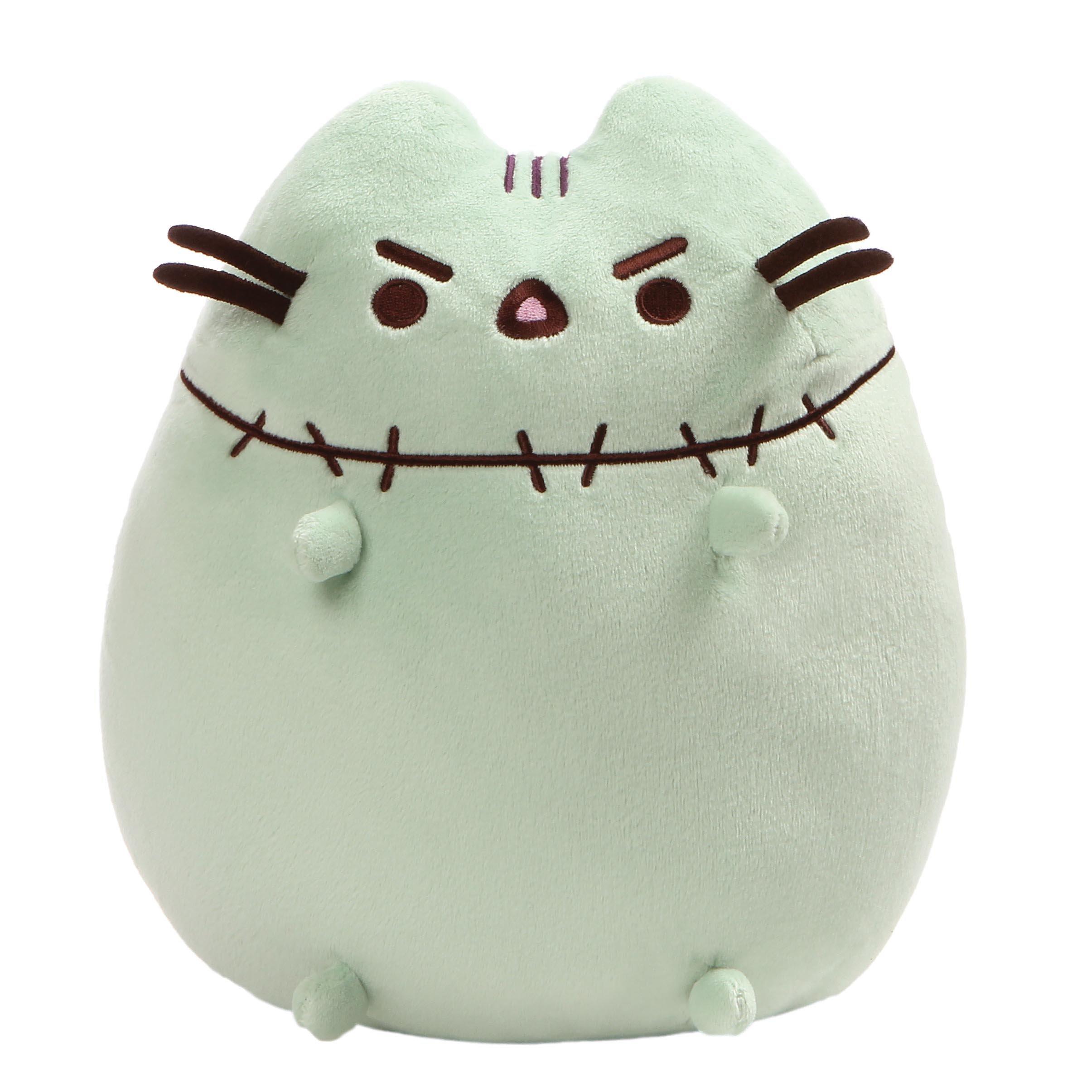 GUND Pusheen Zombie Halloween Cat Plush Stuffed Animal, Green, 9.5'' by GUND