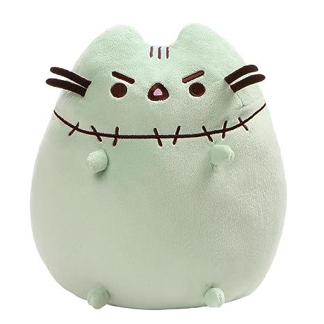 Amazon.com: GUND Pusheen Zombie Halloween Cat Plush Stuffed Animal, Green, 9.5