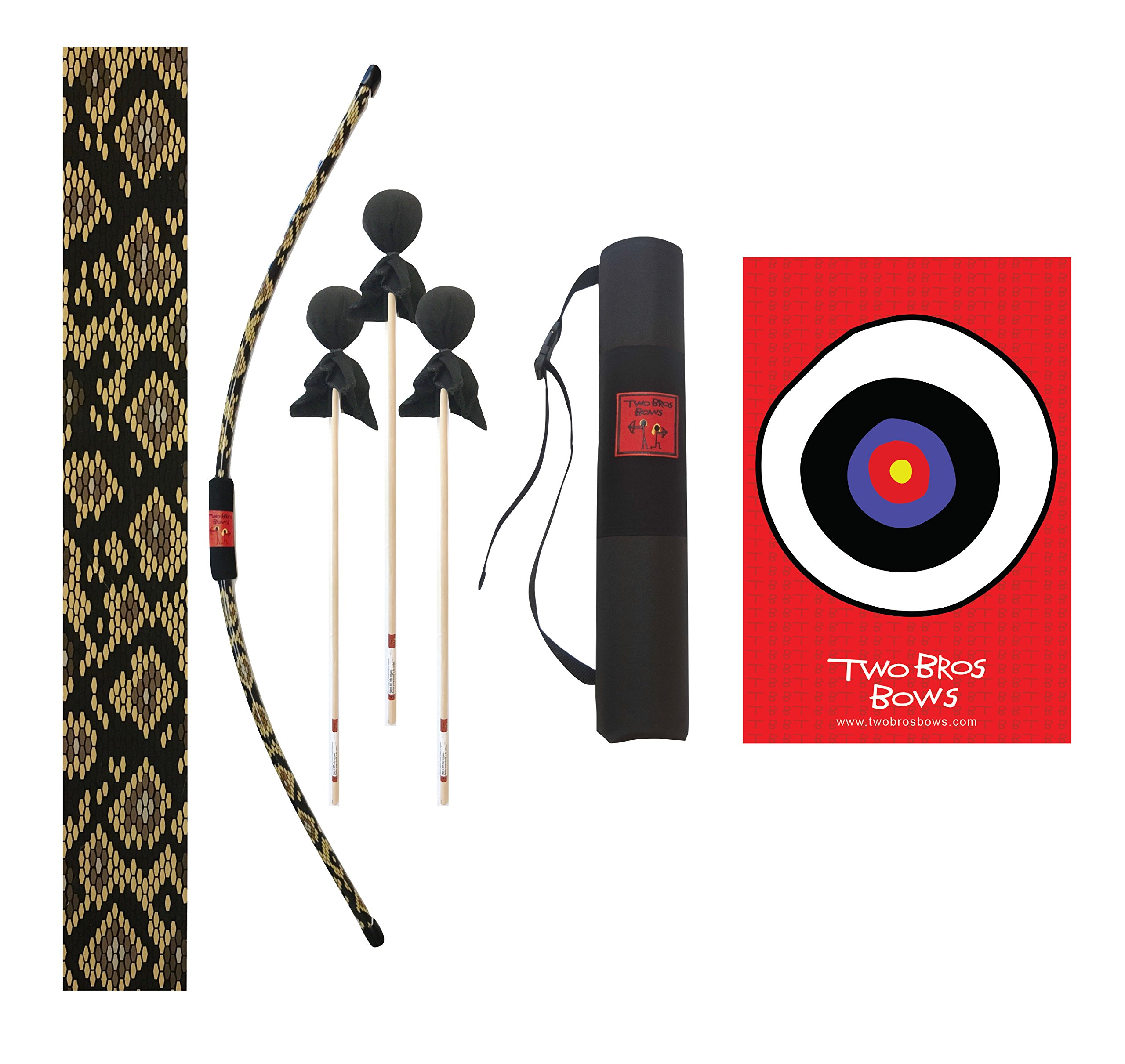 Two Bros Bows Python Archery Combo Set by Two Bros Bows, LLC