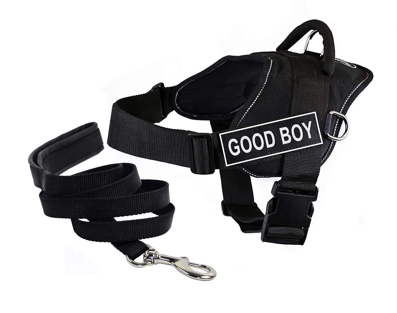 economico e di alta qualità Dean & Tyler Tyler Tyler DT Fun Good Boy Imbracatura con Finiture Riflettenti, X-Large, e 1,8 m Padded Puppy guinzaglio.  Spedizione gratuita al 100%