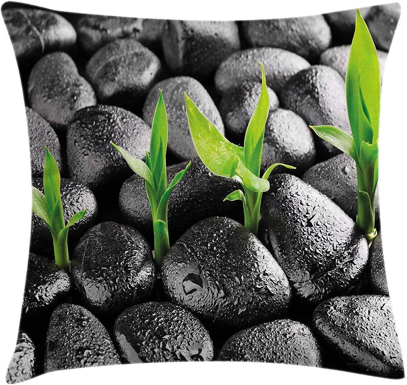 Plant Throw Pillow Cushion Cover