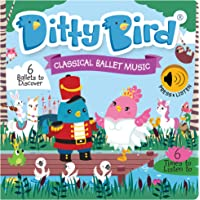 DITTY BIRD Baby Sound Book: Our Classical Ballet Musical Book is The Perfect Toys for 1 Year Old boy and 1 Year Old Girl…