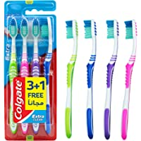 Colgate Extra Clean Med Tb 4 Pieces Value