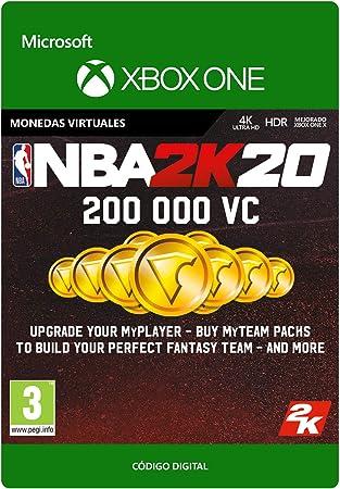 NBA 2K20: 450,000 VC   Xbox One - Código de descarga: Amazon.es: Videojuegos